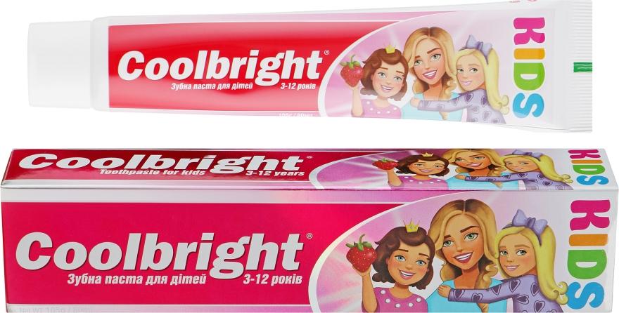 Детская зубная паста - Coolbright Kids Girls