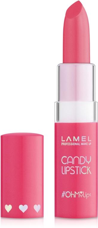 Помада-бальзам для губ - Lamel Professional Candy Lipstick Oh My Lips