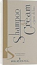 Духи, Парфюмерия, косметика Набор восстанавливающий - Kleral System Semi Di Lino (sham/150ml + mask/150ml)
