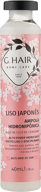 """Холодный ботекс для волос """"Японская сакура"""" - Inoar G-Hair Liso Japones"""