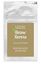 Духи, Парфюмерия, косметика Хна для покраски бровей - BrowXenna (саше)