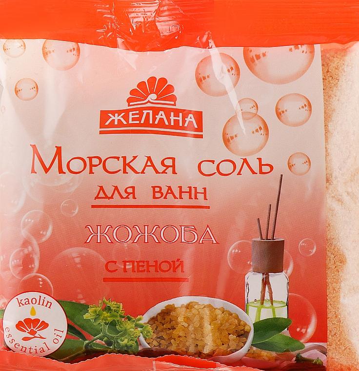 """Морская соль для ванн с пеной """"Жожоба"""" - Желана"""