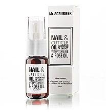 Духи, Парфюмерия, косметика Комплекс для ухода за ногтями и кутикулами - Mr.Scrubber Nail & Cuticle Oil Complex