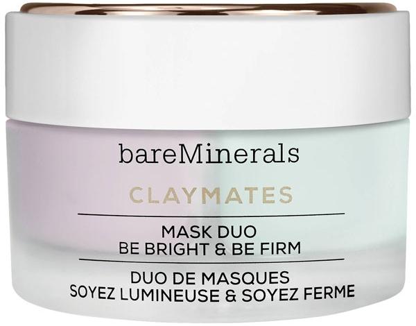 Осветляющая и укрепляющая двойная маска для лица - Bare Escentuals Bare Minerals Claymates Be Bright & Be Firm Mask Duo