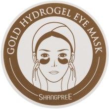 Духи, Парфюмерия, косметика Гидрогелевая маска-компресс для контура глаз - Shangpree Gold Hydrogel Eye Mask