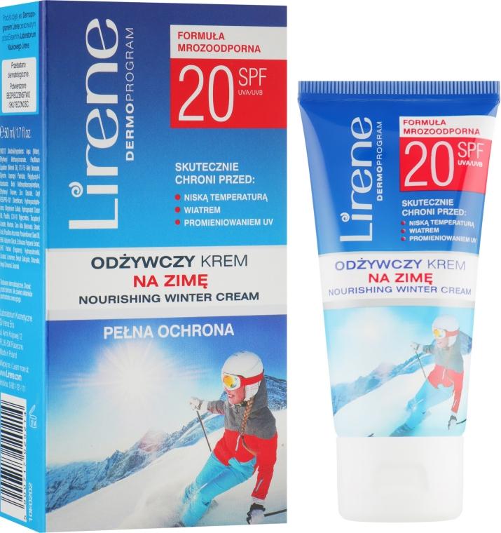 Зимовий захисний крем для обличчя SPF 20 - Lirene Full Active protection Cream for Winter SPF 20 — фото N2