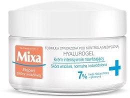Духи, Парфюмерия, косметика Увлажняющий крем-гель для лица - Mixa Sensitive Skin Expert Hyalurogel Light