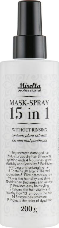 Спрей-маска мгновенного действия 15 в 1 - Mirella Style Volumizing Spray