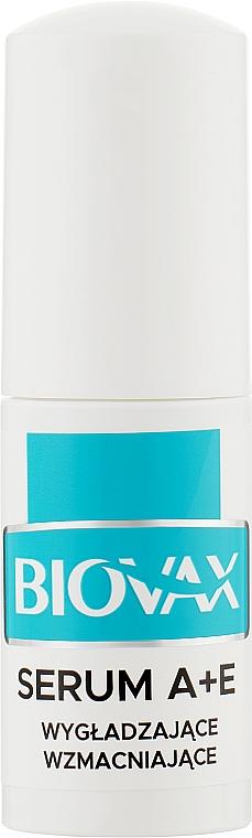Сыворотка-спрей с витаминами А + Е для укрепления волос - L'biotica Biovax Serum