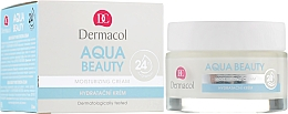 Духи, Парфюмерия, косметика Увлажняющий крем для лица - Dermacol Aqua Beauty Moisturizing Cream
