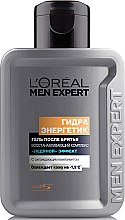 Гель после бритья - L'Oreal Paris Men Expert Hydra Energetic Post-Shave Gel Ice-Cool Soothing Effect  — фото N1
