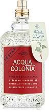 Духи, Парфюмерия, косметика Maurer & Wirtz 4711 Acqua Colonia Rhubarb & Clary Sage - Одеколон (тестер без крышечки)