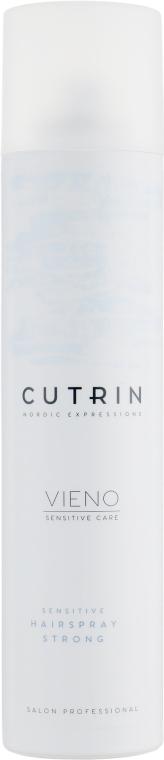 Лак сильной фиксации для чувствительных волос - Cutrin Vieno Sensitive Hairspray Strong