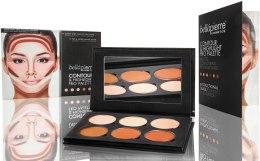 Духи, Парфюмерия, косметика Компактная палитра для моделирования лица - Bellapierre Contour & Highlight Pro Palette