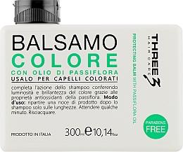 Духи, Парфюмерия, косметика Бальзам для окрашенных волос с маслом пассифлоры - Faipa Roma Three Color Balm