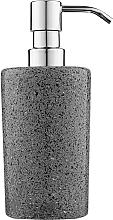 Духи, Парфюмерия, косметика Дозатор для жидкого мыла, серый 200 мл - Q-Bath Perfect Minimalism