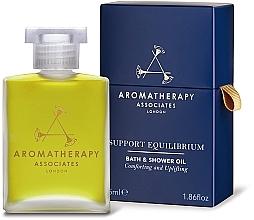 Духи, Парфюмерия, косметика Масло для ванны и душа - Aromatherapy Associates Support Equilibrium Bath & Shower Oil