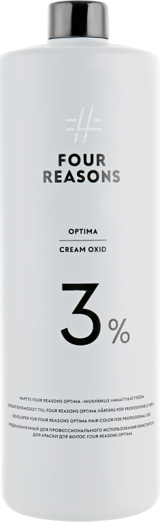 Окислитель для волос 3% - KC Professional Four Reasons Optima Cream Oxid 3%