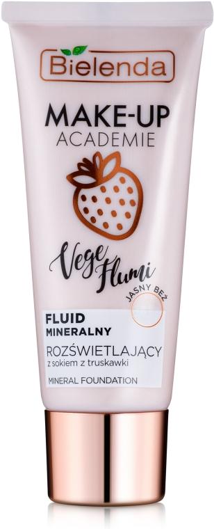 Минеральный тонирующий флюид - Bielenda Make-Up Academie Vege Flumi Fluid Mineralny