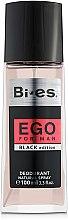 Духи, Парфюмерия, косметика Bi-Es Ego Black - Парфюмированный дезодорант-спрей