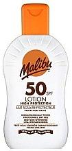 Духи, Парфюмерия, косметика Солнцезащитный лосьон для тела - Malibu Sun Lotion High Protection SPF50