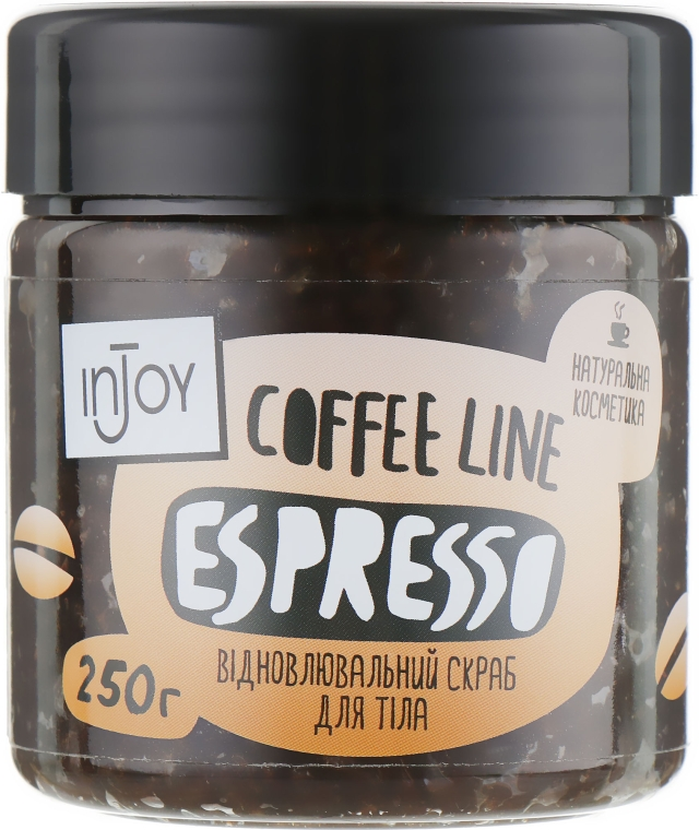 "Скраб для тела ""Espresso"" - InJoy Coffee Line"