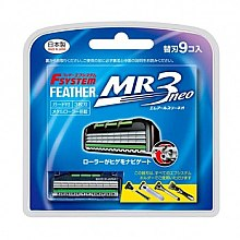 """Духи, Парфюмерия, косметика Запасные кассеты с тройным лезвием для станков """"MR3 Neo"""" - Feather"""