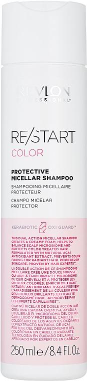 Шампунь для окрашенных волос - Revlon Professional Restart Color Protection Shampoo