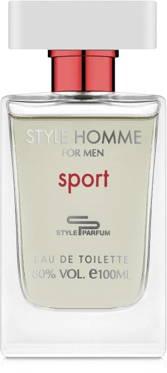 Sterling Parfums Style Homme Sport - Туалетная вода
