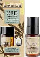Духи, Парфюмерия, косметика Сыворотка для жирной и комбинированной кожи кожи - Bielenda CBD Cannabidiol Serum Booster