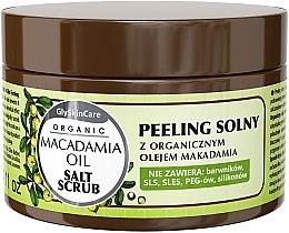 Духи, Парфюмерия, косметика Солевой пилинг с маслом макадамии - GlySkinCare Macadamia Oil Salt Scrub