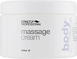 Духи, Парфюмерия, косметика Массажный крем - Strictly Professional Body Care Massage Cream