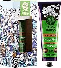 Восстанавливающий бальзам для рук - Natura Siberica Tuva Siberica Tuvan Herbs Rejuvenating Balm For Hands And Nails — фото N1