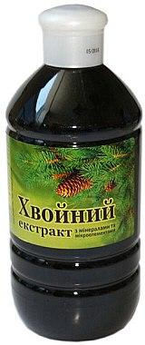 Хвойный экстракт для ванн с минералами и микроэлементами - Бишофит Mg++