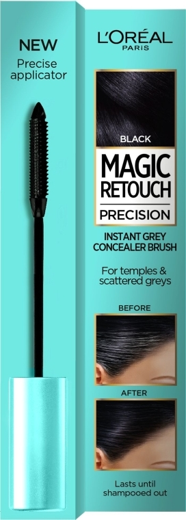 Тушь для волос - L'Oreal Magic Retouch Precision Instant Grey Concealer Brush