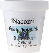 """Духи, Парфюмерия, косметика Йогурт для тела """"Черника"""" - Nacomi Body Yogurt Blueberry Dream"""