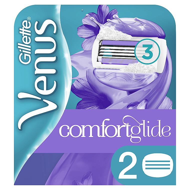 Сменные кассеты для бритья, 2 шт. - Gillette Venus Breeze