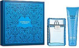 Духи, Парфюмерия, косметика Versace Man Eau Fraiche - Набор (edt/100ml + sh/gel/150ml)