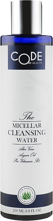 Мицеллярная вода для лица - Code Of Beauty Micellar Cleansing Water