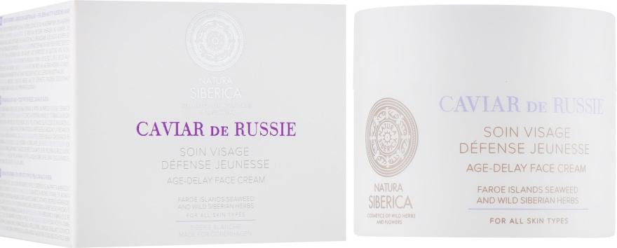 Антивозрастной крем для лица - Natura Siberica Copenhagen Age-delay Face Cream Caviar de Russie