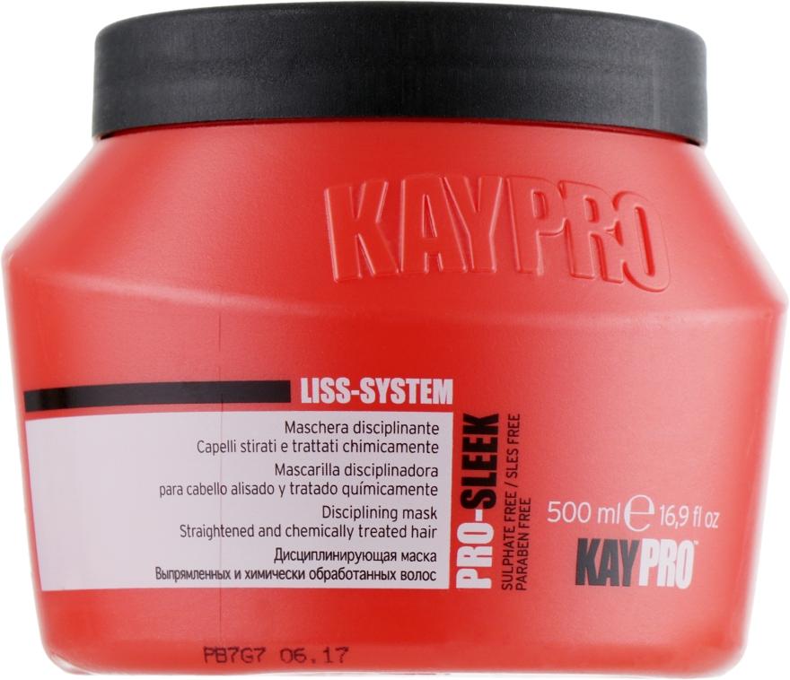 Дисциплинирующая маска для выпрямленных волос - KayPro Pro-Sleek Mask