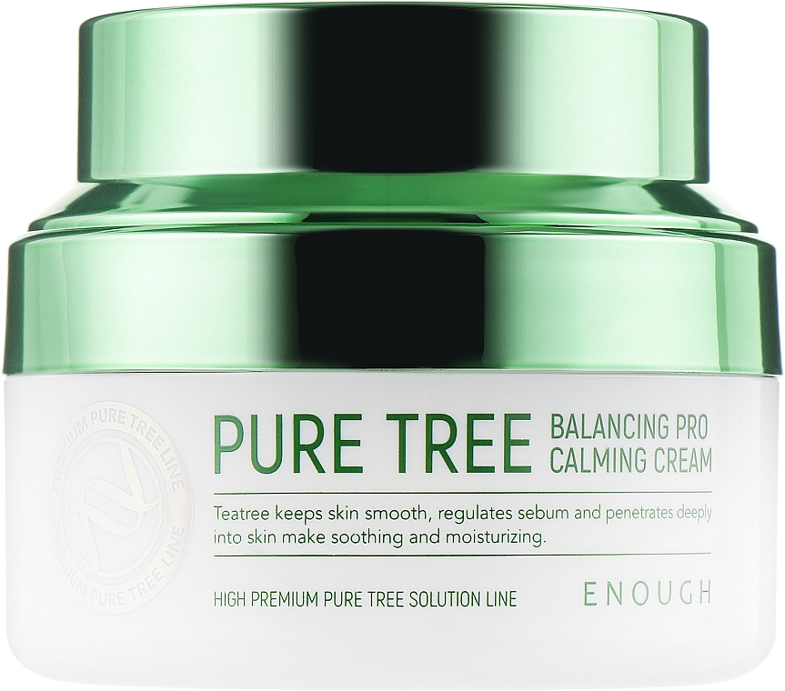 Успокаивающий крем с экстрактом чайного дерева - Enough Pure Tree Balancing Pro Calming Cream