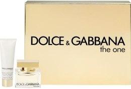 Духи, Парфюмерия, косметика Dolce&Gabbana The One - Набор (edt 75 ml + b/l 100 ml + edp 6ml)