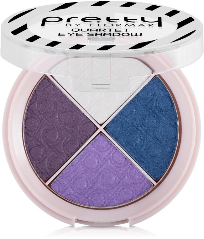 Четырехцветные тени - Flormar Pretty Eyeshadow