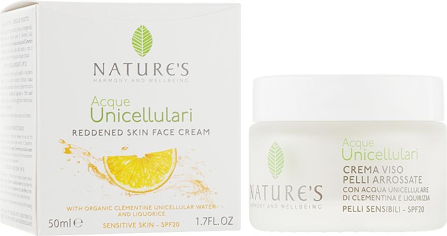 Крем для лица противокуперозный - Nature's Reddended Skin Face Cream SPF20