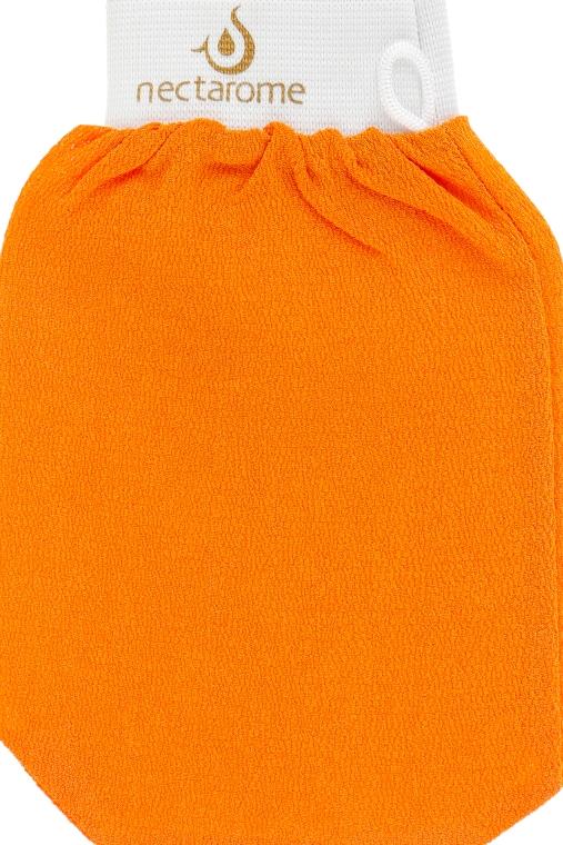 Рукавичка для хаммама, оранжевая - Nectarome