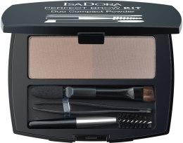 Пудра для бровей - IsaDora Perfect Brow Kit Duo Compact Powder — фото N2