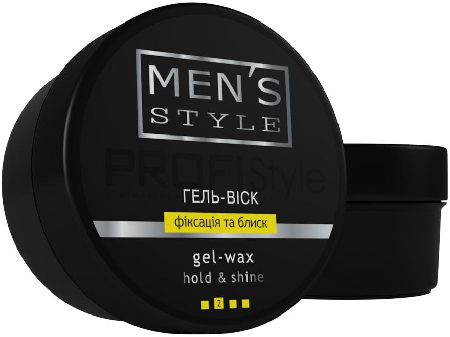 """Гель-воск """"Фиксация и блеск"""" для мужчин - Profi style Men's Style"""