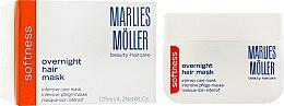 Духи, Парфюмерия, косметика Интенсивная ночная маска для гладкости волос - Marlies Moller Softness Overnight Hair Mask