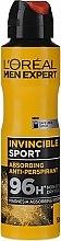Духи, Парфюмерия, косметика Дезодорант-антиперспирант для мужчин - L'Oreal Men Expert Invincible Sport Deodorant 96H